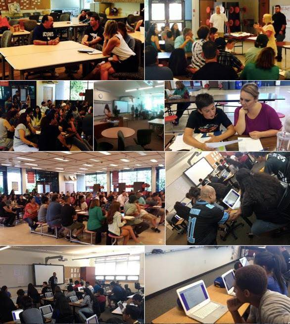photo collage of SCRA activities